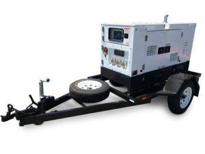 Diesel Generator 240V & Trailer Package